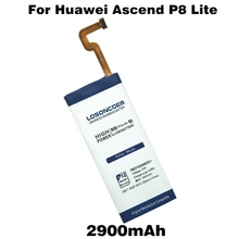 LOSONCOER Top 2900mAh HB3742A0EZC+ Mobile Phone Batteries For Huawei Ascend P8 Lite Battery