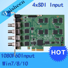 PCI Express HD Video Capture Card 1080p - 4 Channel SDI Real Time