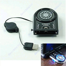 HOT  Mini Vacuum USB Case Cooler Cooling Fan Idea FYD-738 For Notebook Laptop