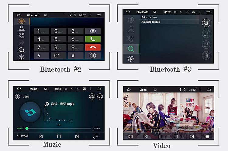Android6 BENZ 2.1