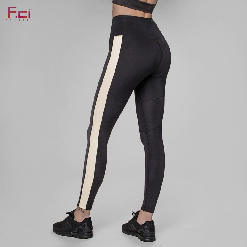 New Women/'s Black Side Stripe High Waist Skinny Jeans Jeggings Ladies Trousers