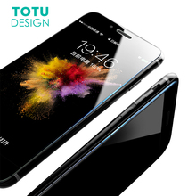 TOTU Screen Protector Tempered Glass For iPhone 8 7 Plus Premium Toughened Glass Protective Film For iPhone8 Front Screen Cover(China)