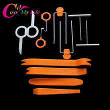 12 Pcs/set Disassembly Tool Auto Car Pry Kit Tool for SsangYong Actyon Turismo Rodius Rexton Korando Kyron Musso Sports