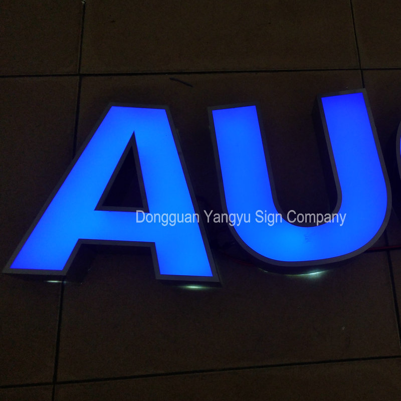 Custom Outdoor led alphabet letters front lit or backlit<br>