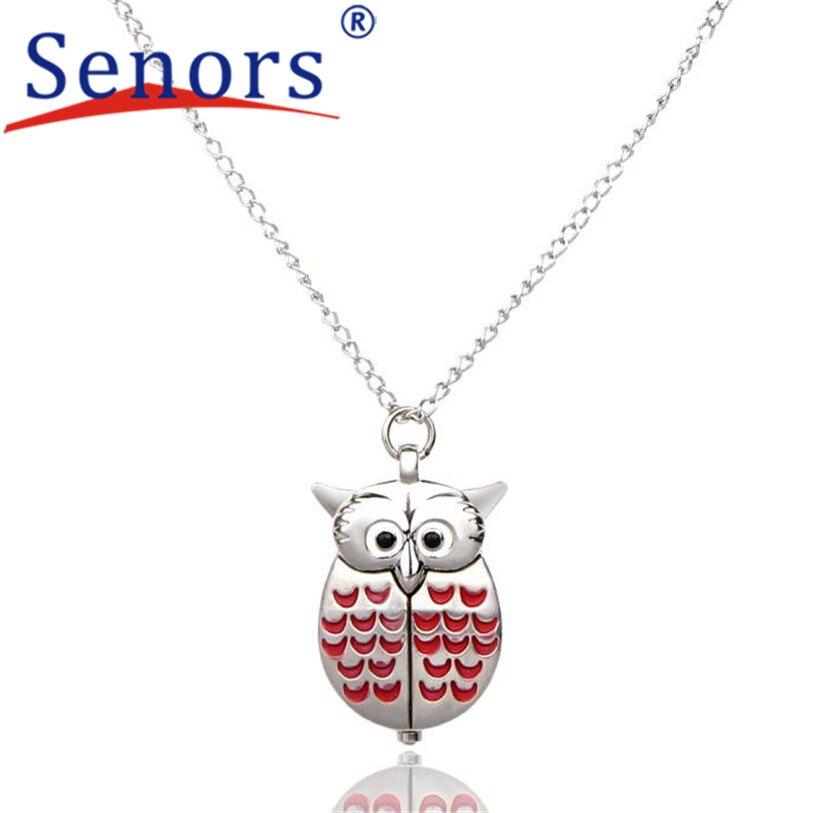 Mini Metal owl double open Quartz Watch Pendant Hanging relogio masculino Uhren relojes NOV25<br><br>Aliexpress