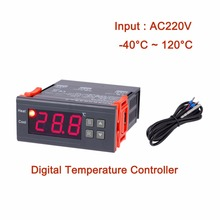 Buy MH1230A AC220V Digital Temperature Controller Thermocouple -40 ~ 120 Degrees Thermostat Refrigeration Heating Regulator for $10.90 in AliExpress store