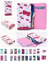 20 Colors!Case For BlackBerry Q5 Universal Flip PU Leather Pouch Cover Protective Wallet Cell Phone Bag for HTC Desire G13
