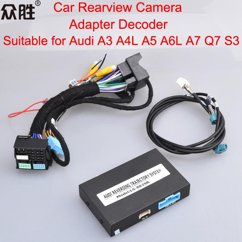 Car Rearview Camera Adapter Decoder Suitable for Audi A3 A4L A5 A6L A7 Q7 S3 (3)