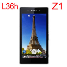 Original Unlocked Sony Xperia L39H Z1 C6903 3G 4G Wifi GSM 20.7MP 5.0 Quad core 16GB Cell phones Refurbished