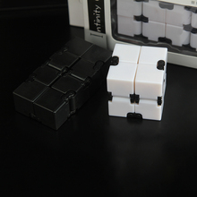 2017 Infinity Cube Fidgets EDC Stress Relief Toys For Adult Child Gift Rebiks Cube Cool Stress Reliever Magic Cube Puzzle Toy