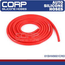 "8mm 0.32"" Red Vacuum Silicone Hose Racing line Pipe Tube 1 Foot"