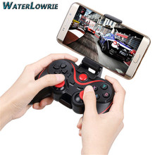 Wireless Bluetooth Gamepad Joystick Dual Vibration Game For Huawei Xiaomi Sumsang Android Phone Console For SONY PS3 Controller(China)