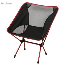 New Ancheer Camp Chair Ultimate Camp Chair Ground Lightweight and Durable Construction Outdoors Garden with Carry Bag hot sale(China)