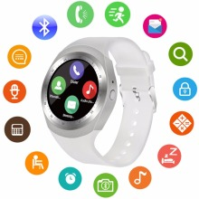2018 Touch Screen Bluetooth Unlocked Watch Cell Phone with 1.54 Inch Screen GSM 2G for Android iPhone,Samsung Galaxy Note series(China)
