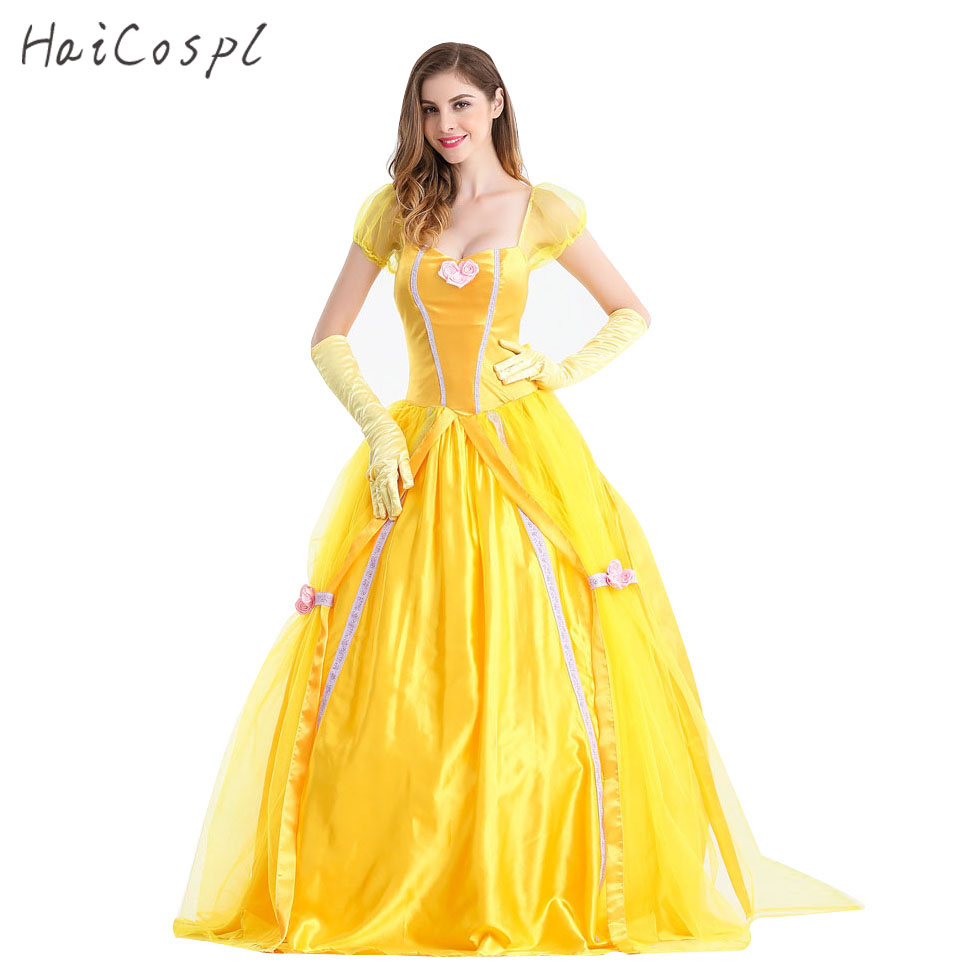Vente en gros adulte belle robe d 39 excellente qualit de grossistes chinois adulte belle robe - Robe la belle et la bete adulte ...