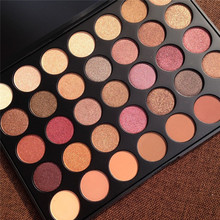 highly pigmented 35 color PRO makeup palette Natural Matte shimmer colors Eyeshadow 35O, 35W,35T,35OS ,35F ,35OM free shipping