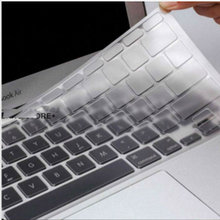 "(2pcs) Ultrathin Clean TPU Keyboard Skin Protector Cover Film For Macbook Air 13"" Retina Pro 13"" 15"" 17"" US(China)"
