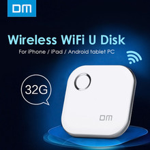 Original DM S3 WFD015 32GB Flash Drive Wireless WiFi U Disk Expansion Pen Drive for Mobile devices / Tablet / iPhone / iPad