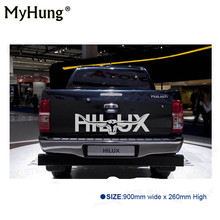 Hot Sale 1Pc Longhorn Hilux 900mm Graphic Vinyl Sticker For TOYOTA HILUX Decals Badges Detailing Sticker Car-styling Accessories(China)