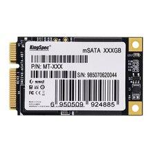 60% OFF Kingspec Мини PCIE MSATA SATA III 6 ГБ/СЕК. SATA II SSD жесткий Диск 32 ГБ 64 ГБ 128 ГБ 256 ГБ Для Dell M4500 Для Lenovo Y460 Y470