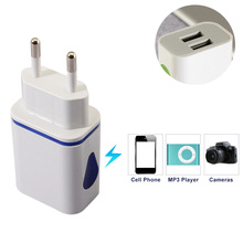 Mobile phone general charger decline and travel using fast charging equipment travel adapters EU/USA Plug USB charger(China)
