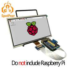 Raspberry Pi 10.1 inch LCD 10.1inch 1024x600 display and VGA Connector DPI driver(China)