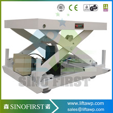 Hydraulic Furniture Lifting Platform Electric Lift Tables