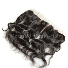 7A Cheap Brazilian Lace Frontal Closure Human Hair 13x4 Bleached Knots Virgin Body Wave Full Lace Frontal Pieces Free Shipping