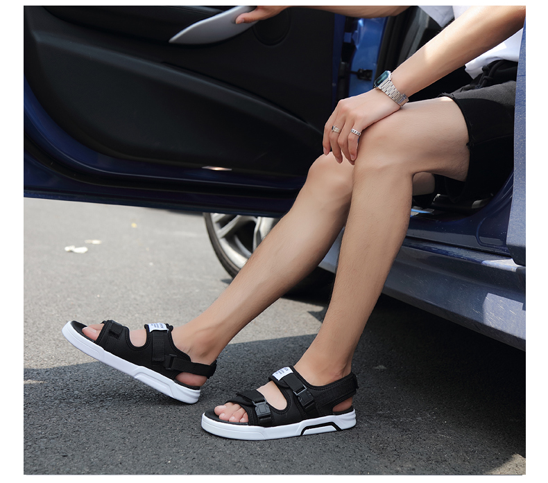 YRRFUOT Summer Big Size Fashion Men's Sandals Outdoor Hot Sale Trend Man Beach Shoes High Quality Non-slip Adult Flats Shoes 46 21 Online shopping Bangladesh