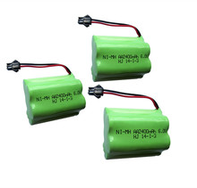 3pcs 6v battery 2400mah ni-mh bateria 6v nimh battery pack 6v size aa rechargeable ni mh for lighting rc car toy electric tools