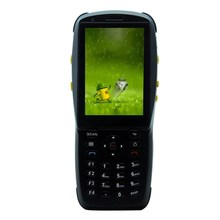 Original 1D Laser Barcode Handheld Scanner Bluetooth Android Rugged mobile Data Terminal PDA NFC 3G Data Collector 1 SIM Card 2D