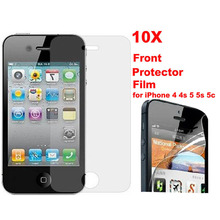 Special Price 10 pcs/lot Clear Transparent Front Screen Protector Guard Film For iPhone 4 4s 5 5S 6 6s 6/6s plus Free shipping