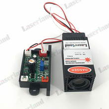 Fat beam Focusable 200mW 650nm Red Dot Laser Diode Module TTL Continuous Working(China)
