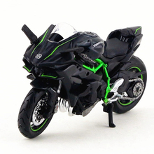 Maisto Kawasaki Motorcycle Toy, 1:18 Die Cast & ABS Motorcycle, Emulation 2HR Motorbike Model, Kids Toys, Brinquedos Adults Gift(China)