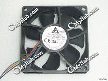 Genuine For Dell Server Delta QUR0812SH -HE00 HE00 092584 DC12V 0.50A 4Pin 4Wire 80x80x25mm Cooling Fan