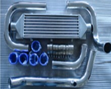 DEL-SOL, D series D16  Intercooler kit /Front Mount Intercooler Piping Kit/Charge Air cooler