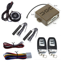 Car Alarm System PKE Keyless Entry Central Locking Push Button Engine Ignition Start/Stop Remote Engine Start(China)
