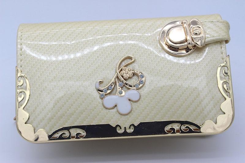 004 women wallets 16.5*10*4.5cm fashion Practical wallet phone package metal lace multifunction wallet<br><br>Aliexpress