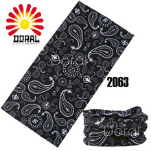 Fashion 2015 Bandana 100% Polyester Microfiber Seamless Bandana 25*48 Cm Custom Printed Bandanas Motorcycle Scarf(China)