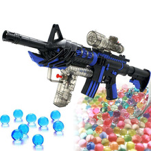 20000 pc /Bag 6-8MM Strong Paintball For gun Water Beads Cultivation Crystal Soil hydrogel orbiz Balls Grow In Water gel