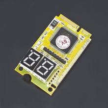3 in 1 Mini PCI-E LPC PC Analyzer Tester POST Card Test For Notebook Laptop Wholesale Store(China)