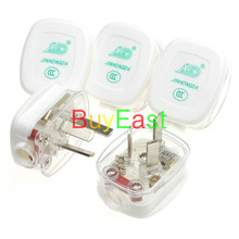 5 X CHINA, Australian, New Zealand 3-Pin DIY Rewireable Power Plug