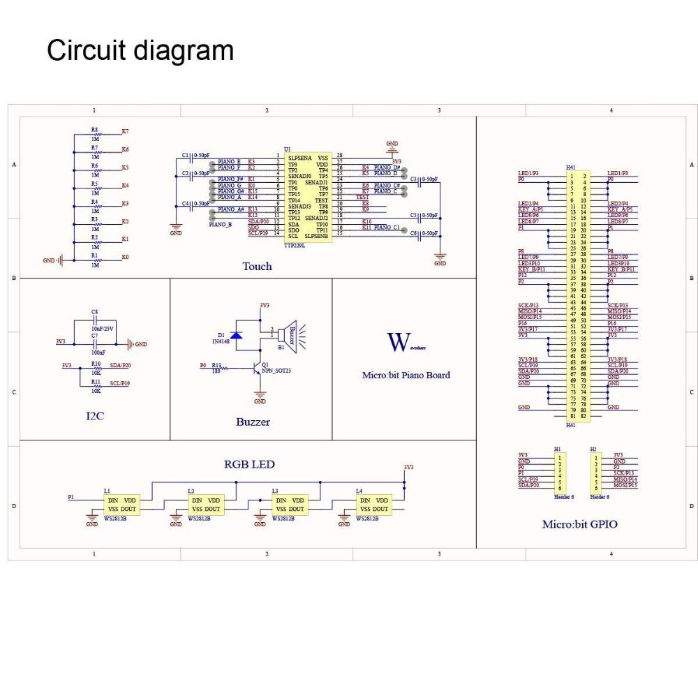 Mini Piano Module for BBC microbit (4)