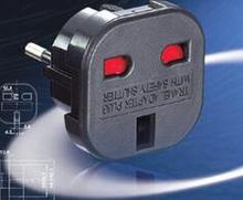 Excellent Quality UK to EU Euro Europe European Travel Power Adaptor Plug 2 Pin Adapter Convertor(China)