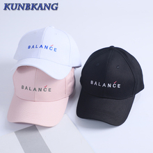 2017 Good Quality Letter Embroidery Baseball Cap Black Pink Women Hats Cotton Dad Snapback Caps Casquette Bone Men Trucker Hat