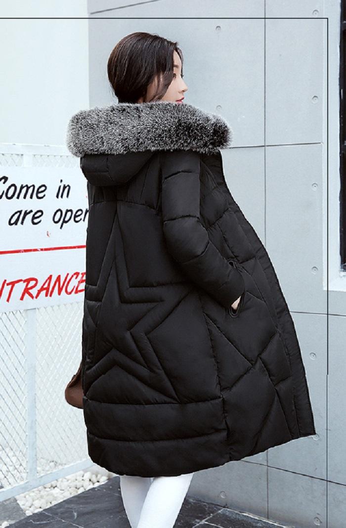 2017 Winter Women Coat Thicken Warm Long Jacket women coat girls long slim big coat jacket Down Parka+20 (2)