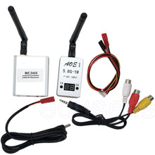 New Car Wifi Video Backview System 1000mW/1W Wireless AV TS932 Transmitter 5.8G 8CH RC305 Receiver for FPV Aerial Photography