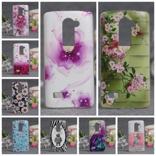 New Luxury Soft TPU 3D Painted Case For LG LEON H340N H320 H324 Covers Protector Back Cover for lg leon 4G Mobile Phone Cases