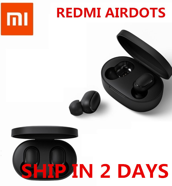 IN STOCK Original Xiaomi Redmi AirDots True Wireless bluetooth 5.0 Earphones DSP Active Noise Cancellation(China)