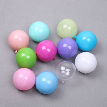 multi color european candy box spherical gift boxes fashion creative wedding and party plastic ball candy boxs